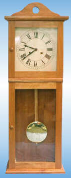 Small Shaker Wall Clock