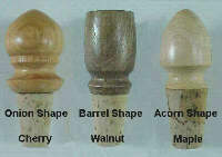 Handturned Bottlecorks by Robert Worth