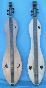Hourglass shape Dulcimer by Robert Worth